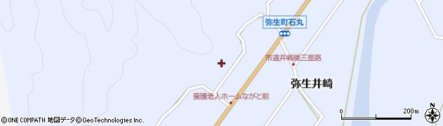 大分県佐伯市弥生大字井崎1413周辺の地図