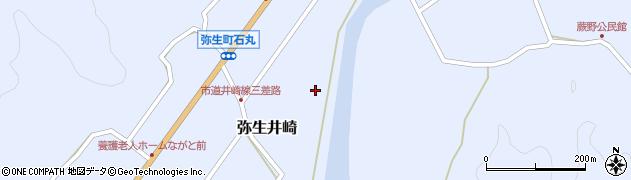 大分県佐伯市弥生大字井崎1059周辺の地図