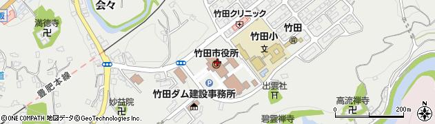 大分県竹田市会々1650周辺の地図