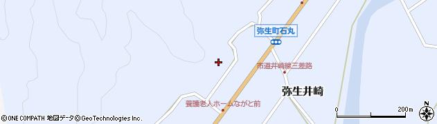 大分県佐伯市弥生大字井崎1418周辺の地図