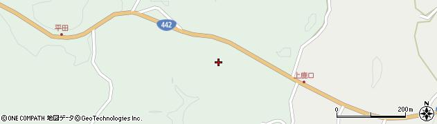 大分県竹田市平田353周辺の地図