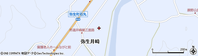 大分県佐伯市弥生大字井崎1052周辺の地図