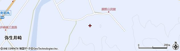 大分県佐伯市弥生大字井崎565周辺の地図