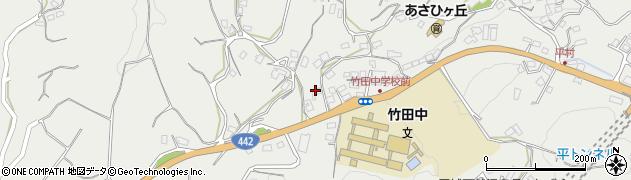 大分県竹田市会々3535周辺の地図