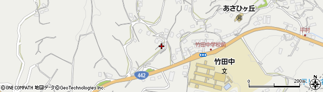 大分県竹田市会々3838周辺の地図