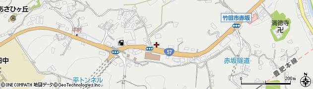 大分県竹田市会々2793周辺の地図