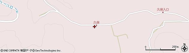 大分県竹田市久保802周辺の地図