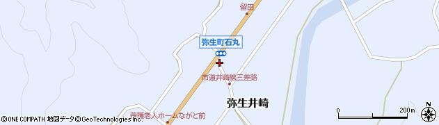 大分県佐伯市弥生大字井崎990周辺の地図