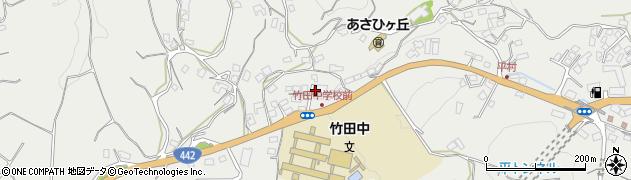 大分県竹田市会々3473周辺の地図