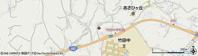 大分県竹田市会々3468周辺の地図