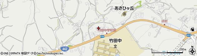 大分県竹田市会々3471周辺の地図