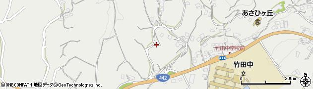 大分県竹田市会々3758周辺の地図