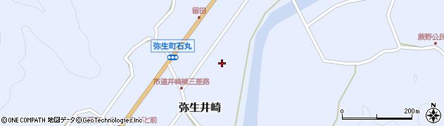 大分県佐伯市弥生大字井崎1036周辺の地図