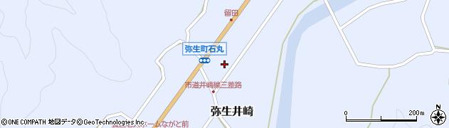 大分県佐伯市弥生大字井崎997周辺の地図