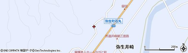 大分県佐伯市弥生大字井崎1434周辺の地図