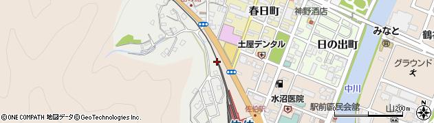 大分県佐伯市平野町6周辺の地図