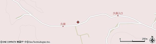 大分県竹田市久保703周辺の地図