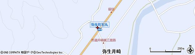 大分県佐伯市弥生大字井崎1459周辺の地図
