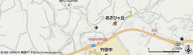 大分県竹田市会々3485周辺の地図