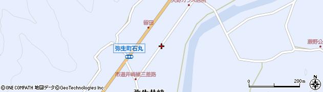 大分県佐伯市弥生大字井崎1018周辺の地図