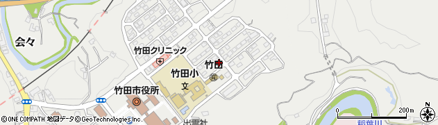 大分県竹田市会々1636周辺の地図