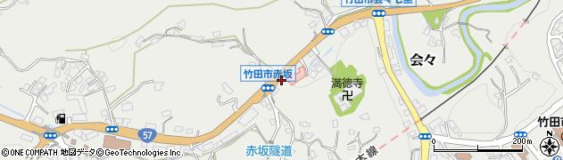 大分県竹田市会々1260周辺の地図
