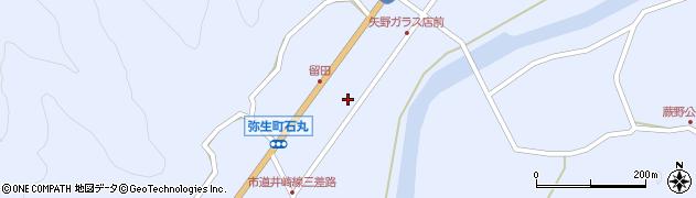 大分県佐伯市弥生大字井崎1006周辺の地図