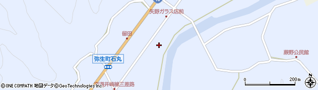 大分県佐伯市弥生大字井崎1605周辺の地図