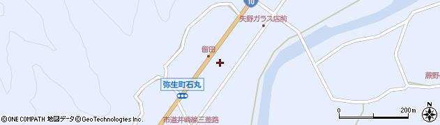 大分県佐伯市弥生大字井崎1066周辺の地図