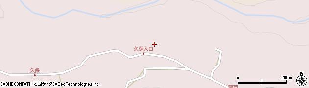 大分県竹田市久保631周辺の地図
