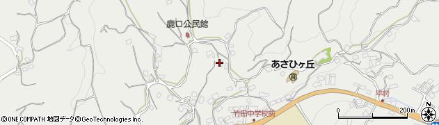 大分県竹田市会々3885周辺の地図
