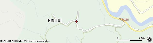大分県竹田市下志土知623周辺の地図