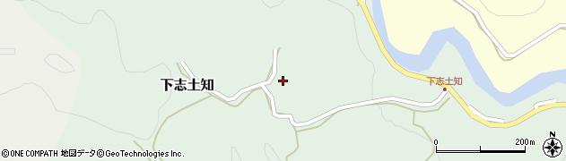 大分県竹田市下志土知588周辺の地図