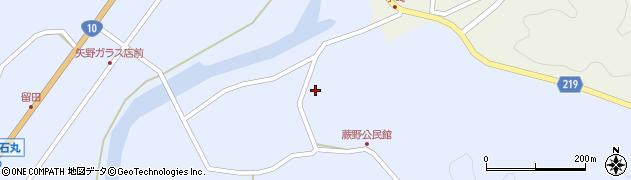 大分県佐伯市弥生大字井崎282周辺の地図