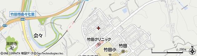 大分県竹田市会々1861周辺の地図