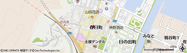 大分県佐伯市春日町周辺の地図