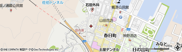 大分県佐伯市田の浦町5周辺の地図