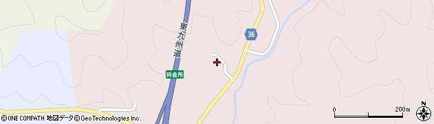 大分県佐伯市上岡2742周辺の地図