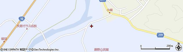 大分県佐伯市弥生大字井崎306周辺の地図