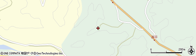 大分県竹田市平田1484周辺の地図