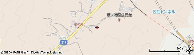 大分県佐伯市鶴望4431周辺の地図
