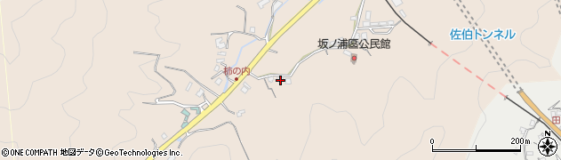 大分県佐伯市鶴望4423周辺の地図