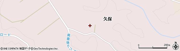 大分県竹田市久保1051周辺の地図