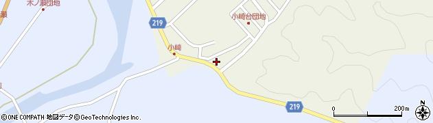 大分県佐伯市弥生大字大坂本292周辺の地図