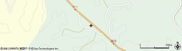 大分県竹田市平田2613周辺の地図
