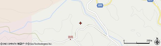大分県竹田市志土知1655周辺の地図