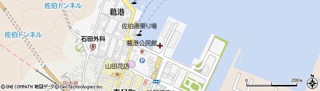 大分県佐伯市葛港2周辺の地図