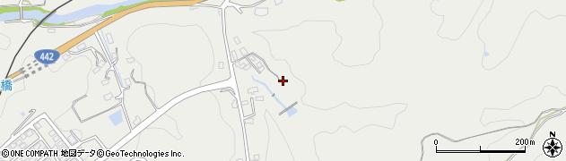 大分県竹田市挟田647周辺の地図