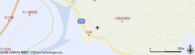 大分県佐伯市弥生大字大坂本390周辺の地図