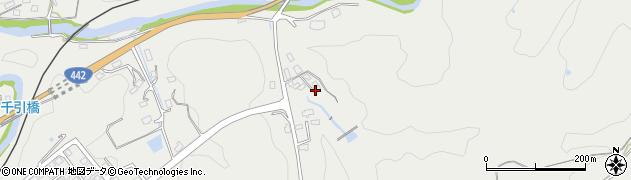 大分県竹田市挟田661周辺の地図
